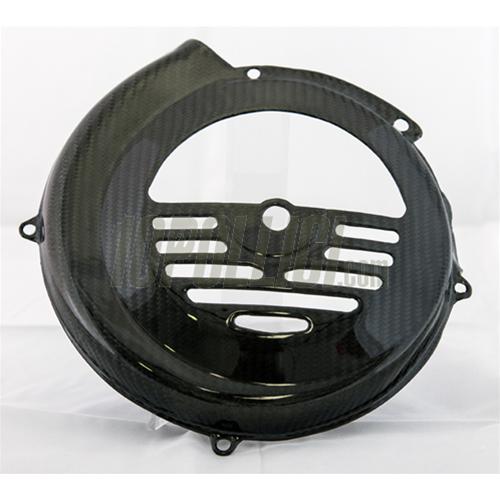 10pollici 13530 Flywheel Cover Tomas Compositi Vespa 50 90 125 Et3 Primavera Carbon Fiber