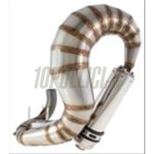 Racing exhaust SIP PERFORMANCE CURLY Vespa PX125-150, TS, stainless steel  silencer