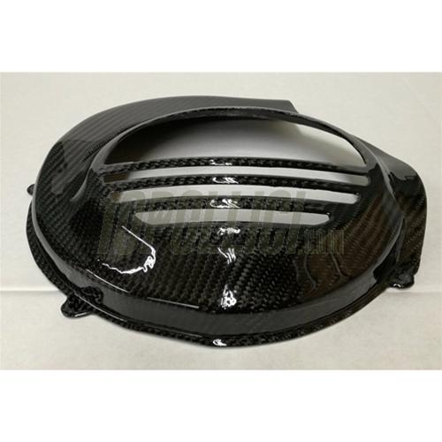 Flywheel Cover Tomas Compositi Vespa Px Elestart Carbon Fiber